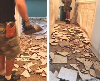 Floor Demolition
