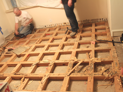 Subfloor Demolition 4
